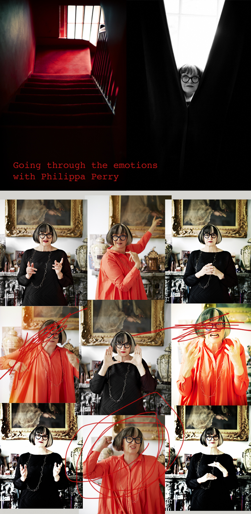 Philippha Perry, Going through the emotions